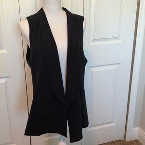 Ann Taylor Open Vest Large
